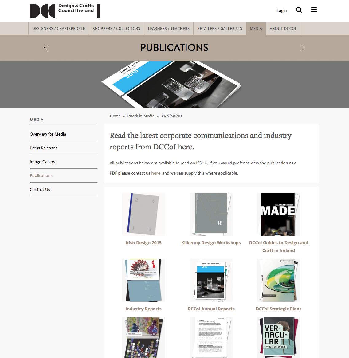 DCCoI: Publications