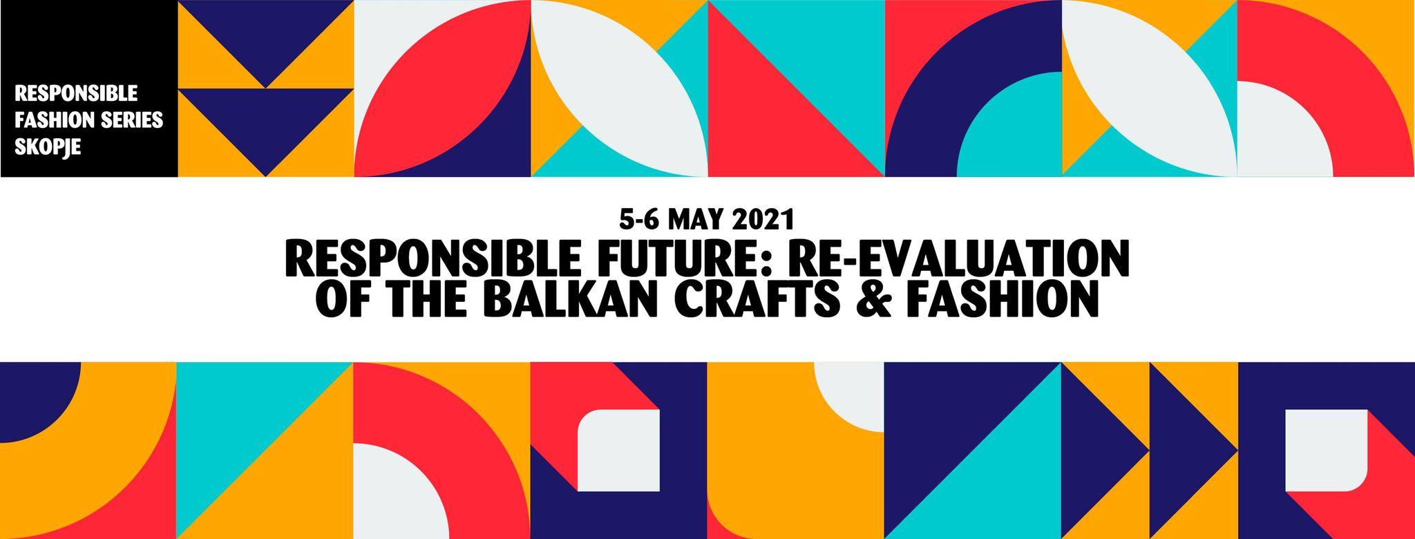 Responsible Fashion Series Skopje, online, 5-6 May 2021