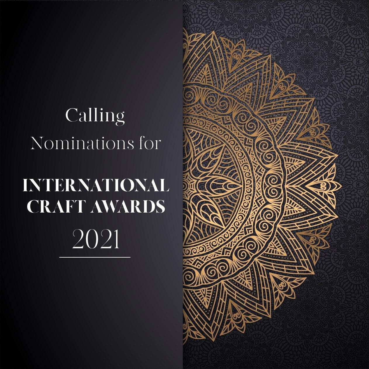 Open Call: 5th International Craft Awards 2021